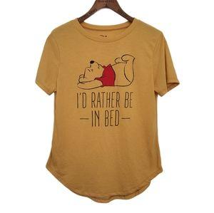WINNIE THE POOH Shirt Disney Shortsleeve (M 7-9)